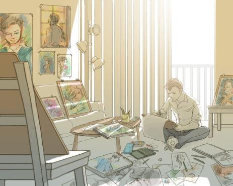 P-Painting pixiv.net