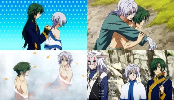 Couple này có tên là RyokuHaku hoặc Jaeki