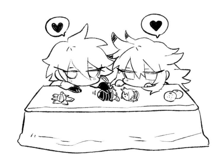 Siegfried X Karna All The Valentines Chocolate Combined